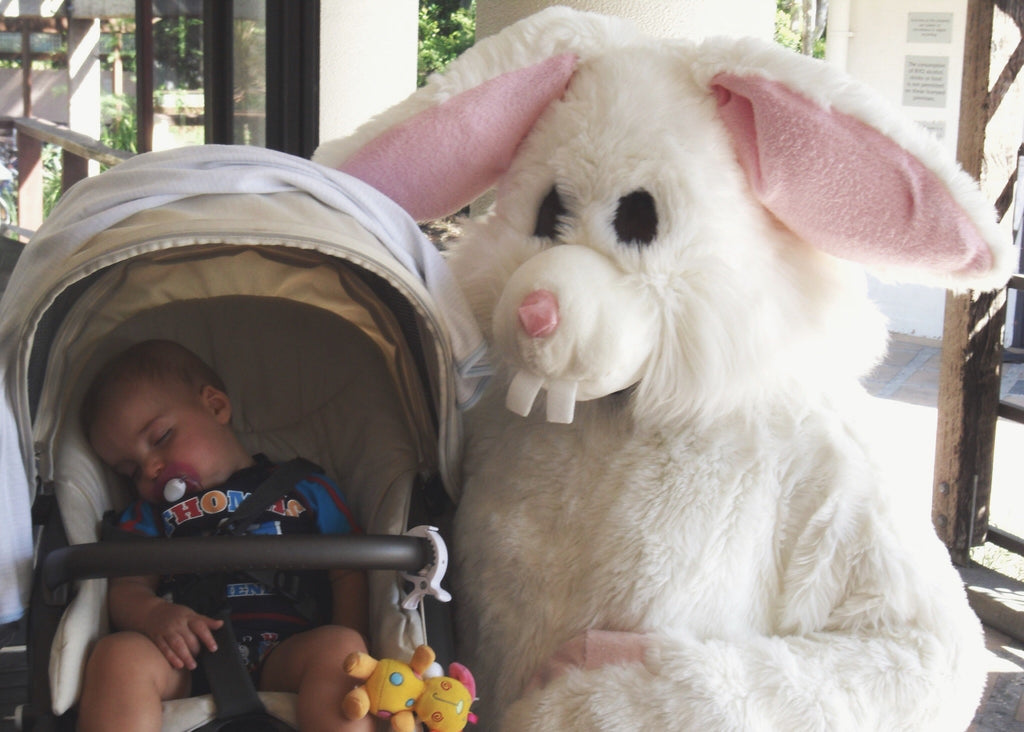 10+ Terrifying Easter Bunny Photos that will Haunt Your Dreams