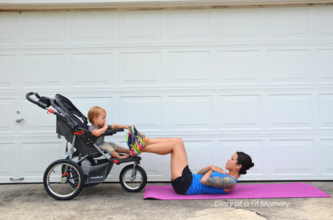 Diary of a Fit Mommy | Post Pregnancy Workout