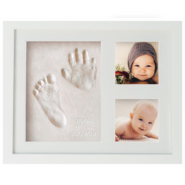 First Impressions, Baby Handprint & Footprint Memory Frame