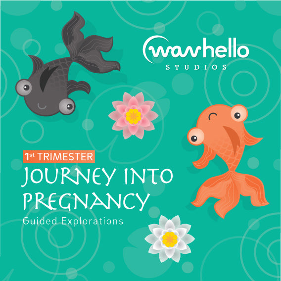 Journey Into Pregnancy, Guided Explorations Into the 1st Trimester (preview the tracks below)