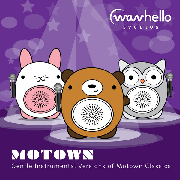 Motown, Gentle Instrumental Version (preview the tracks below)