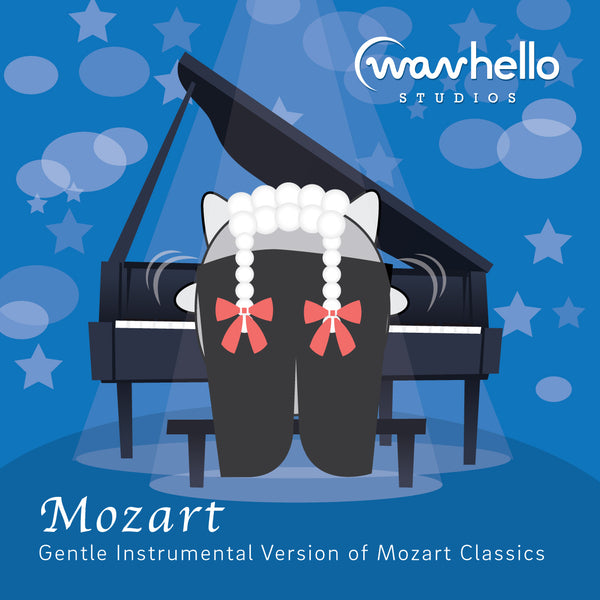 Mozart, Gentle Instrumental Version (preview the tracks below)