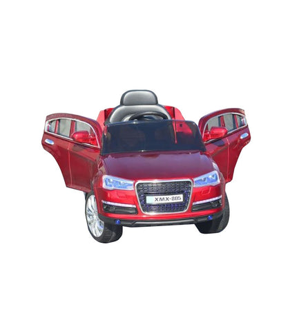 Audi Q7 Inspired Kid's Electric Ride-In Car w/ LED Lights & Remote Control (Red) - myhoverboardscooter.com - 1