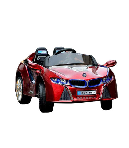 BMW i8 Inspired Kid's Electric Ride-In Car w/ LED Lights & Remote Control (Red) - myhoverboardscooter.com - 1