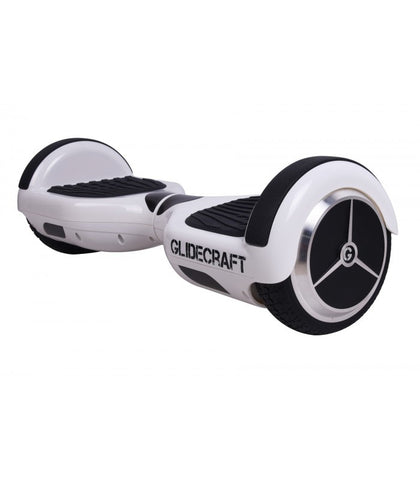 Glidecraft x100 - Self Balancing Electric Hoverboard Scooter (White & Black) - myhoverboardscooter.com - 1