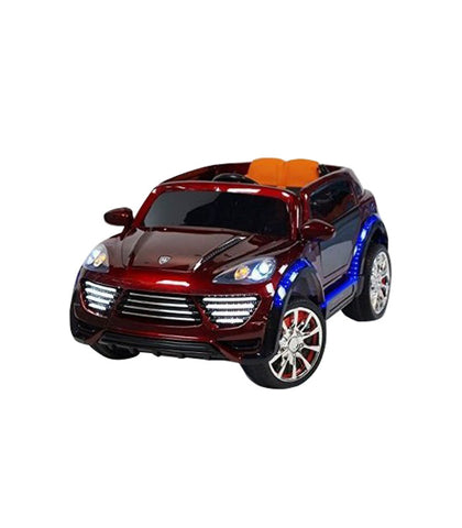 Porche Cayenne S Inspired Kid's Electric 2-Seater Ride-In Car w/ LED Lights & Remote Control (Red) - myhoverboardscooter.com - 1
