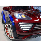 Porche Cayenne S Inspired Kid's Electric 2-Seater Ride-In Car w/ LED Lights & Remote Control (Red) - myhoverboardscooter.com - 7