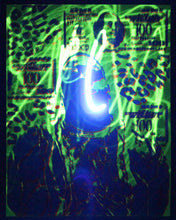 Glow in the Dark Art Print #10 Hyphy Biggie 2 SIZES includes free mini black light!!