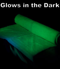 1/2 YARD - Hyphy Glow in the Dark Fabric- 1/2 YARD - WILL NEVER FADE