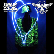 Glow in the Dark Blazer made in INDIA by Freeborn Designs  Custom sizing available