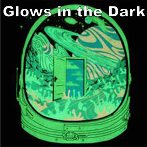 Deep Space Hyph- Glow in the Dark Tshirt includes FREE LED MINI BLACK LIGHT