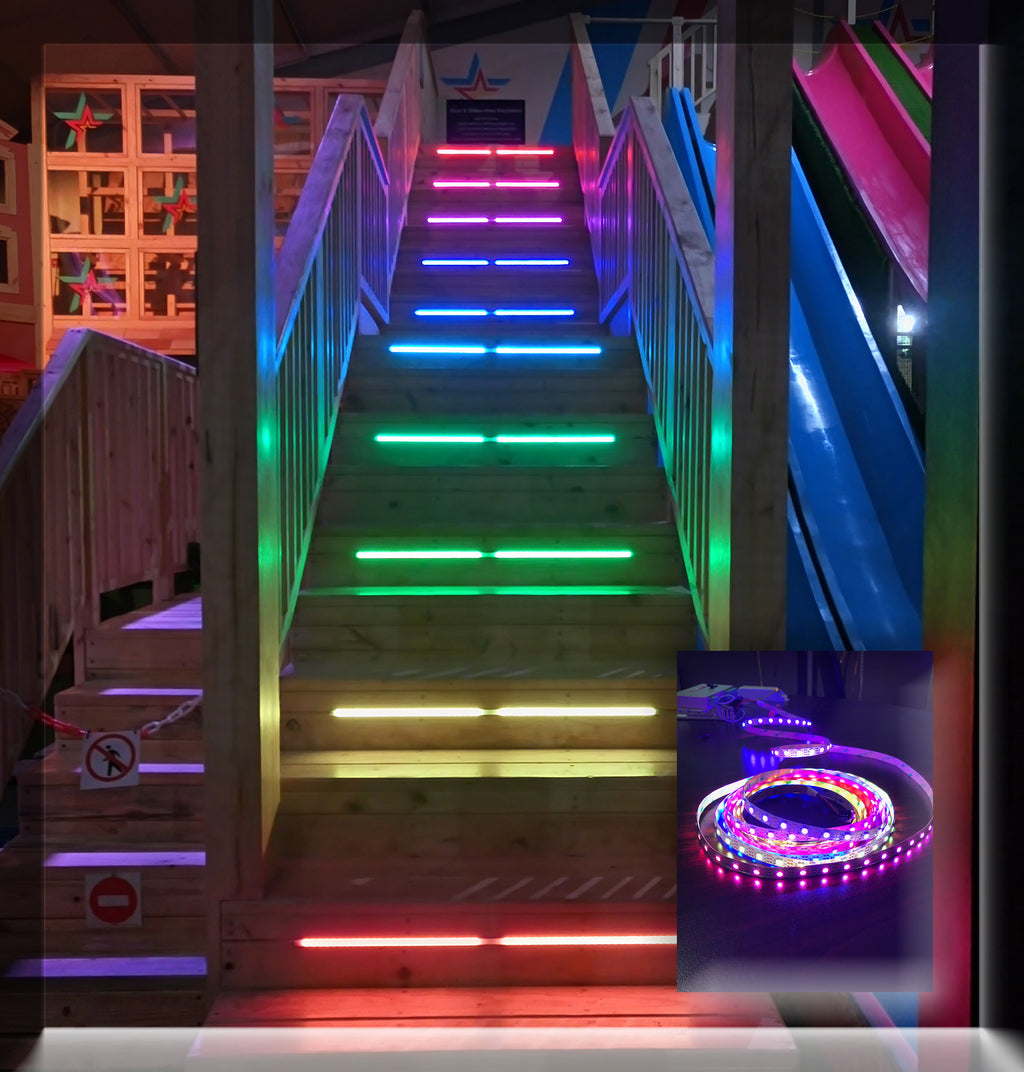 Lighting Basement Washroom Stairs: LED Staircase Ideas And Solutions