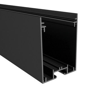 Black Aluminum LED Channel