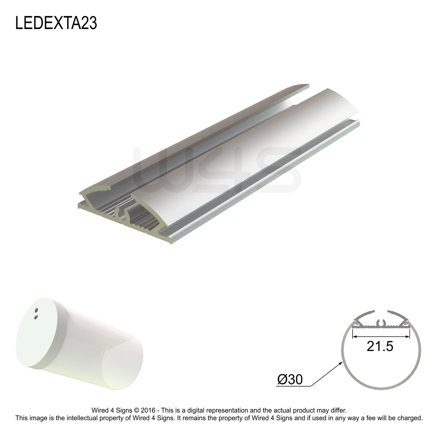LED Profile A23