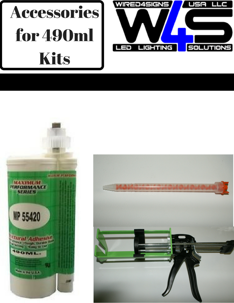 Accessories for 490ml Kits