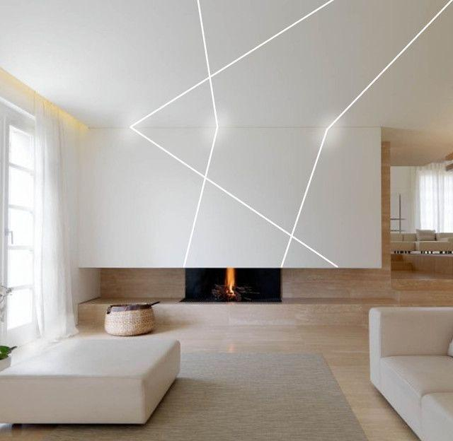 Led Drywall Extrusions Amp Led Drywall Channels Wall Mount