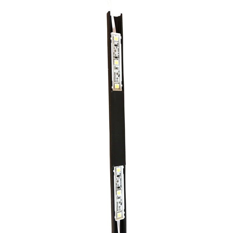 1 meter LED Module Holder including 7 x 80 mm covers| Wired4Signs USA |