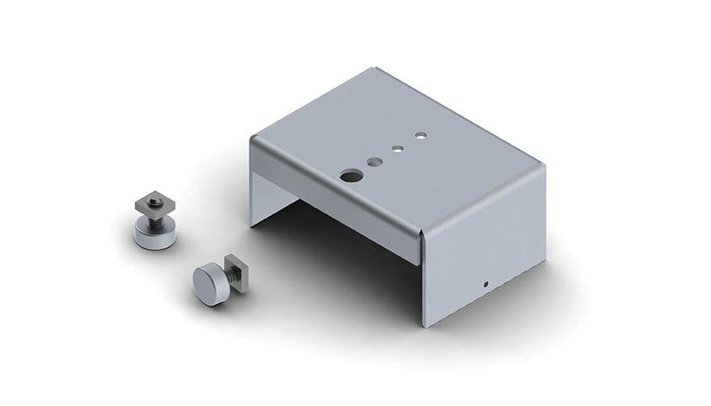 new, Gypsum ceiling Trimless installation magnetic mounting bracket (set) for PL55 led profile - Wired4Signs USA