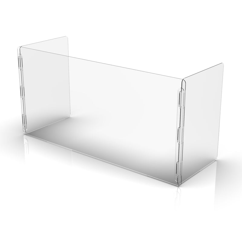 Reception Desk Sneeze Guard| Wired4Signs USA |