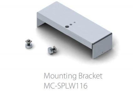 Gypsum ceiling Trimless installation magnetic mounting bracket (set) for SPLW116 led profile| Wired4Signs USA |