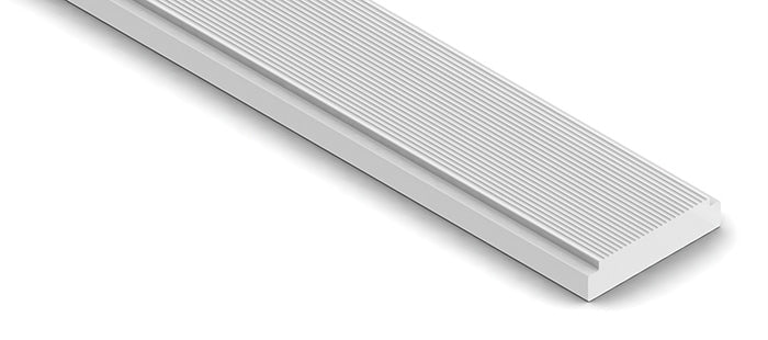 Acrylic diffuser for STAIR2 series profiles, satin mat finish| Wired4Signs USA |