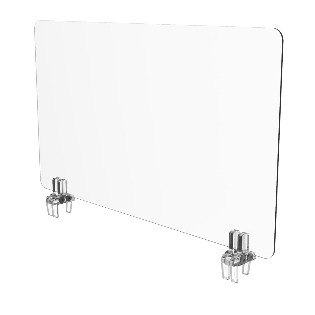 Cubicle Sneeze Guard Shield - Wired4Signs USA
