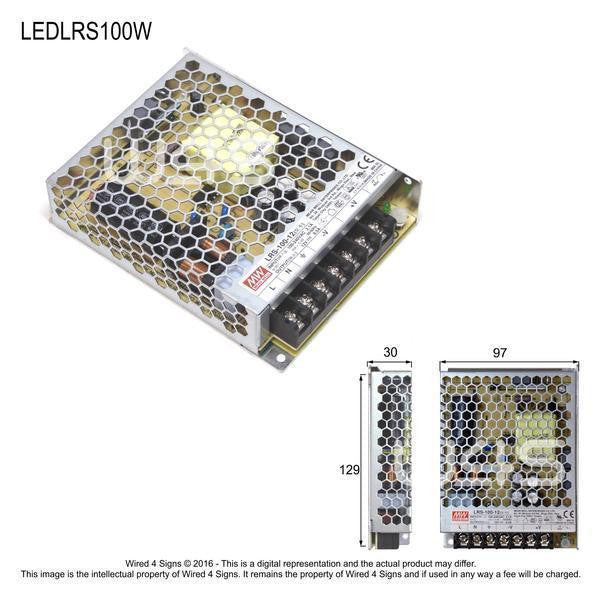 Meanwell LRS Indoor led driver ~ 3 Year - Wired4Signs USA