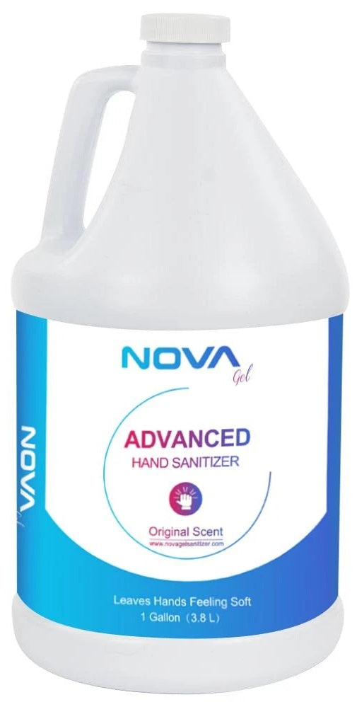 Novagel Advance 1 Gallon Hand Sanitizer| Wired4Signs USA |