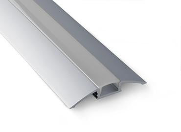 LED Floor Lighting Strips Surface Mount Channel - Model Alu-Flat [Profile Only] - Wired4Signs USA