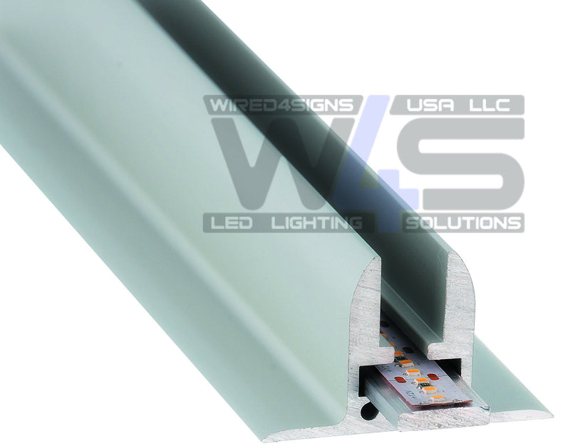 Edge-Lit LED Profile for shelves and signage - Ginebra - Wired4Signs USA
