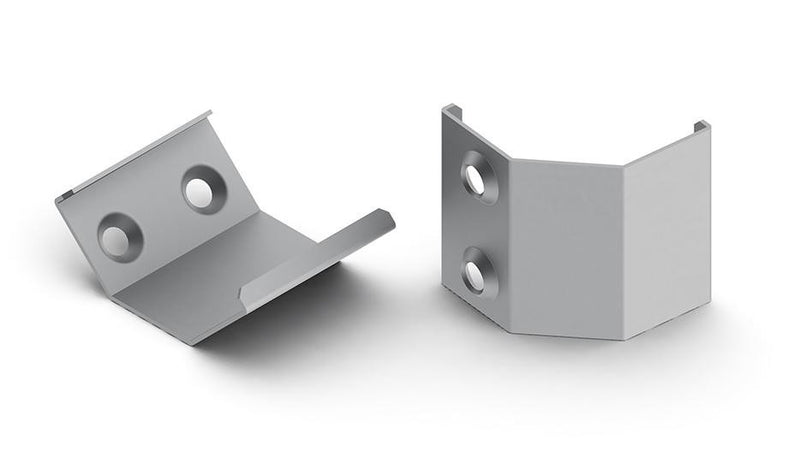 Alu-Corner Spring steel mounting bracket for ALU-Corner LED profile (each) - Wired4Signs USA