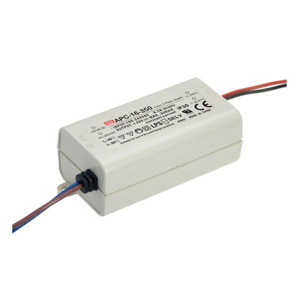 Meanwell APC 16 350 16W Single Output LED constant current driver| Wired4Signs USA |