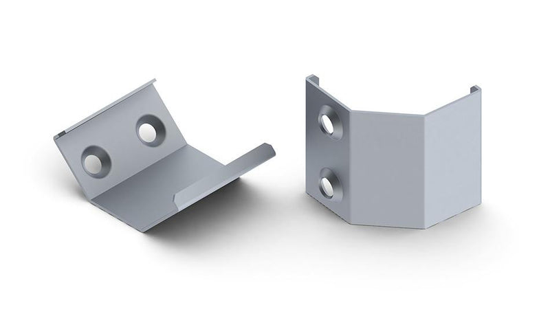 ABS mounting bracket for ALU-Corner LED profile| Wired4Signs USA |