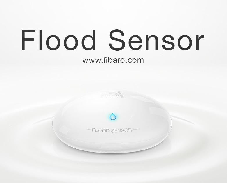 Fibaro Z Wave Flood Sensor| Wired4Signs USA |