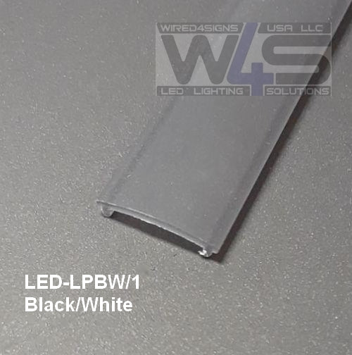 Opal, White, Clear, Frosted and Black LED Diffuser - Wired4Signs USA