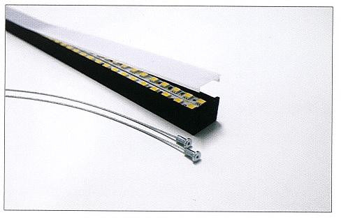 PMMA diffuser for Alu Epoxy, RSLW20-FL LED profile 2 Meter(6.56ft) - Wired4Signs USA