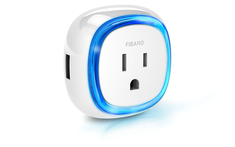 Fibaro Wall Plug with USB| Wired4Signs USA |