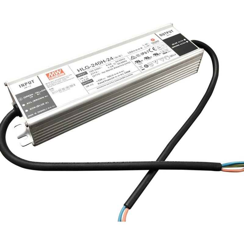 Meanwell HLG Series Indoor / Outdoor LED Driver~7 year| Wired4Signs USA |