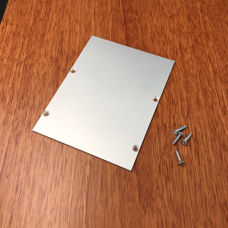 Aluminum Endcap for DPL70FL - Wired4Signs USA