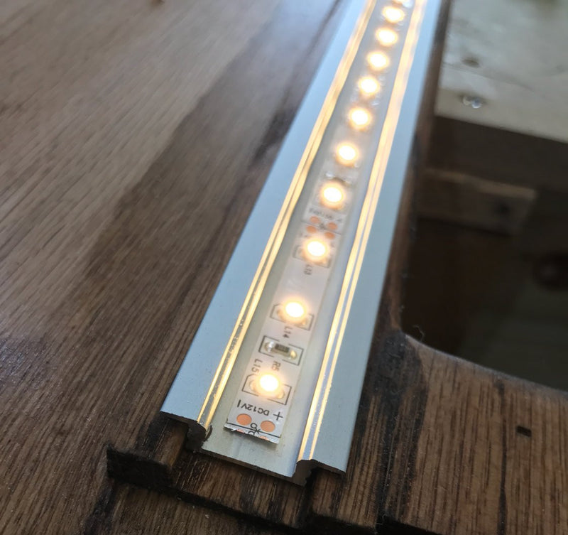Recess LED Strip Channel - Model RSL7 [Profile Only]| Wired4Signs USA |