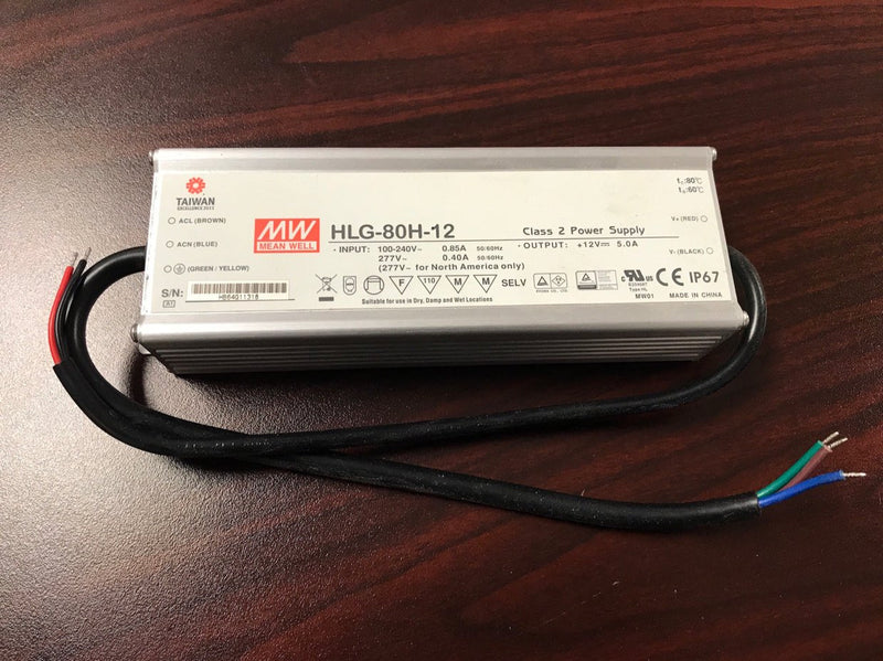 Meanwell HLG Series Indoor / Outdoor LED Driver~7 year - Wired4Signs USA