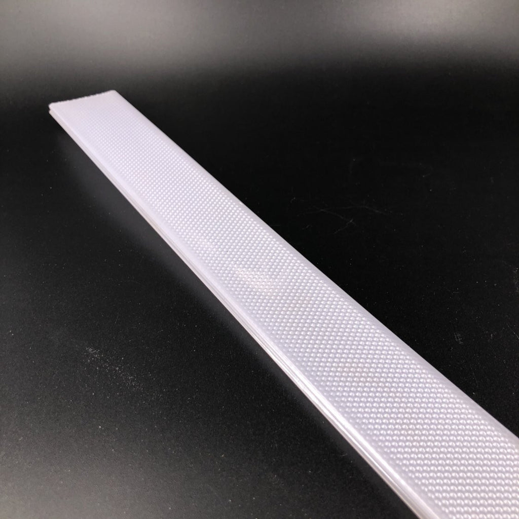 new, Prismatic antiglare diffuser, for PL, PLA, RPL, RPLA, RPL35FL PL35S, PL35D, SPL, SPL FL series profiles, - Wired4Signs USA