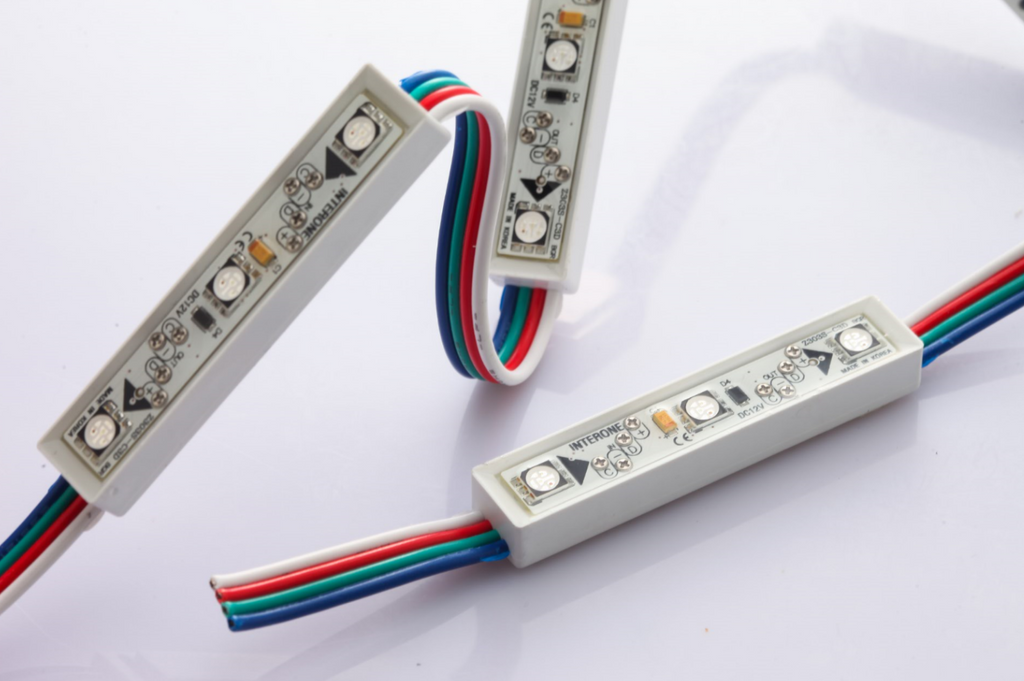 RGB DMX LED Strip Modules ~ Interone - Wired4Signs USA