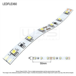 12v Constant Voltage LED Strip 3528 chip ~ Daisy Series - Wired4Signs USA
