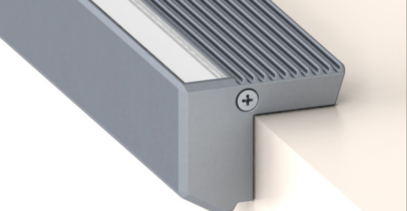 Small LED Stair Nosing Channel - Model:- Alu-Stair Nano| Wired4Signs USA |