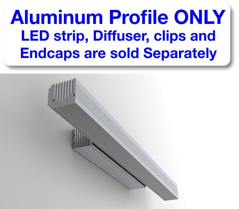 LED Wall lights Channel - Model PL35S [Profile Only]| Wired4Signs USA |