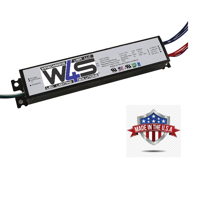 E30 WATT,Dimmer Constant Current LED Driver 4-OUTPUT| Wired4Signs USA |