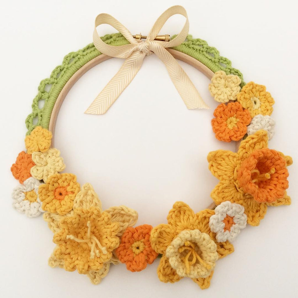 Spring Wreath ~ Crochet Tutorial