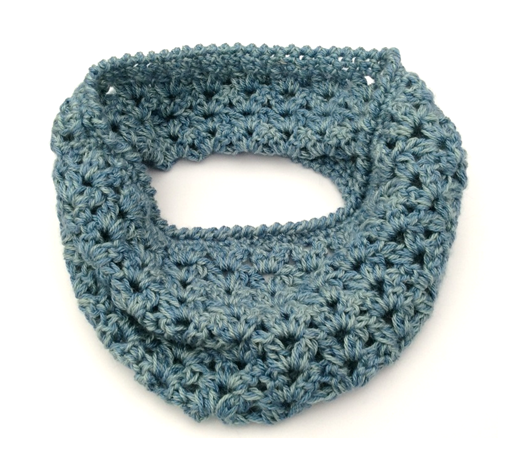Holiday Inspired Crochet Part 3 - The Whitstable Cowl