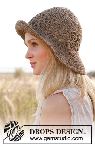 Mara Crochet hat by Drops Design, blog by Cotton Pod